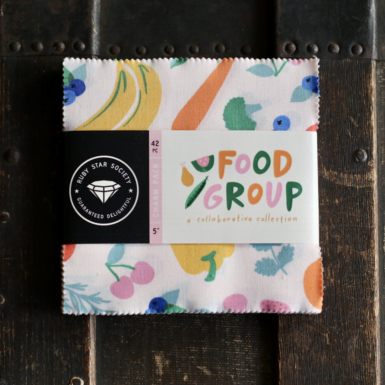 Ruby Star Society Food Group - 42 pc. Charm Pack (5 squares)