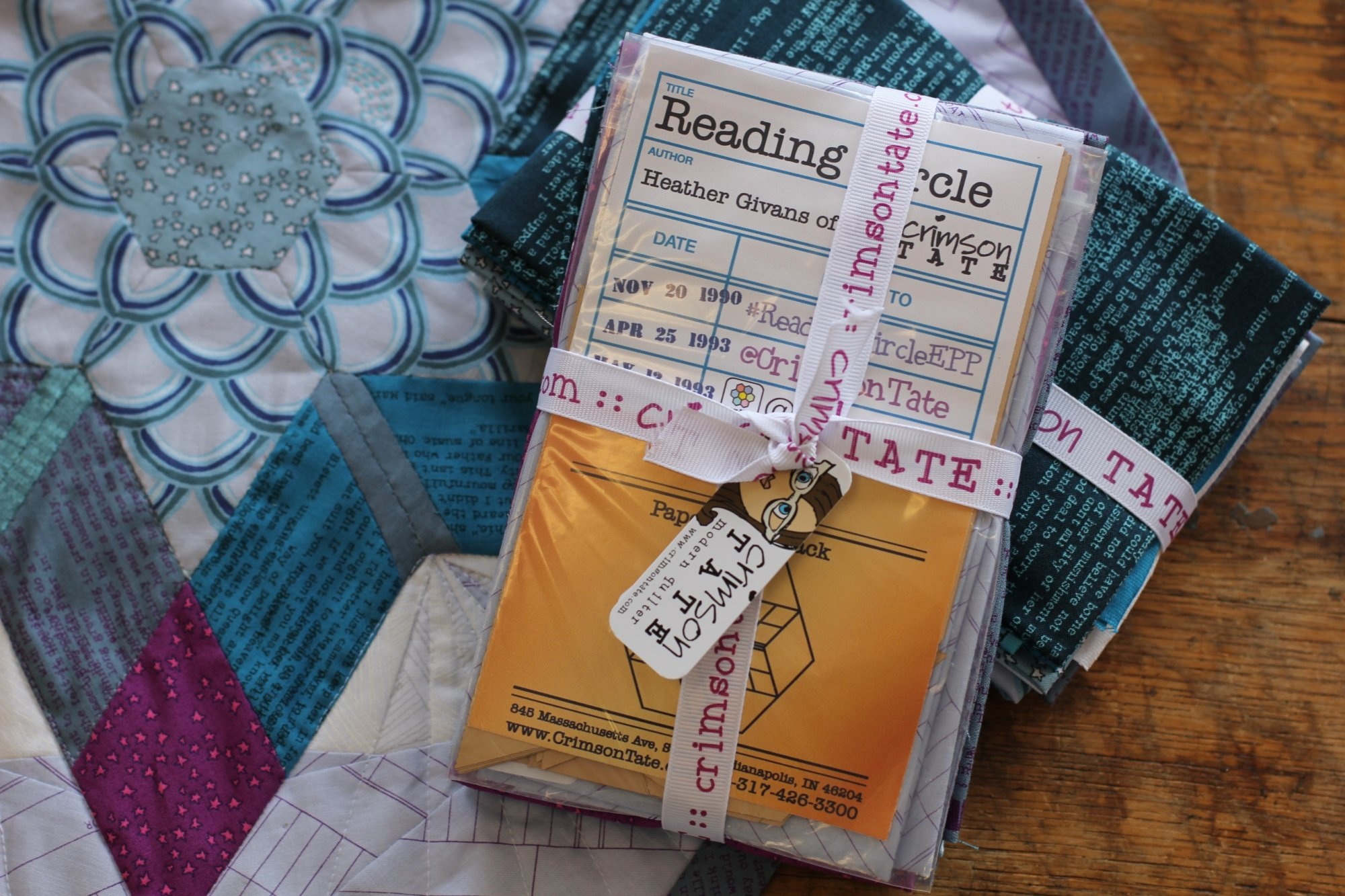 Reading Circle EPP Mini Quilt Kit Grande