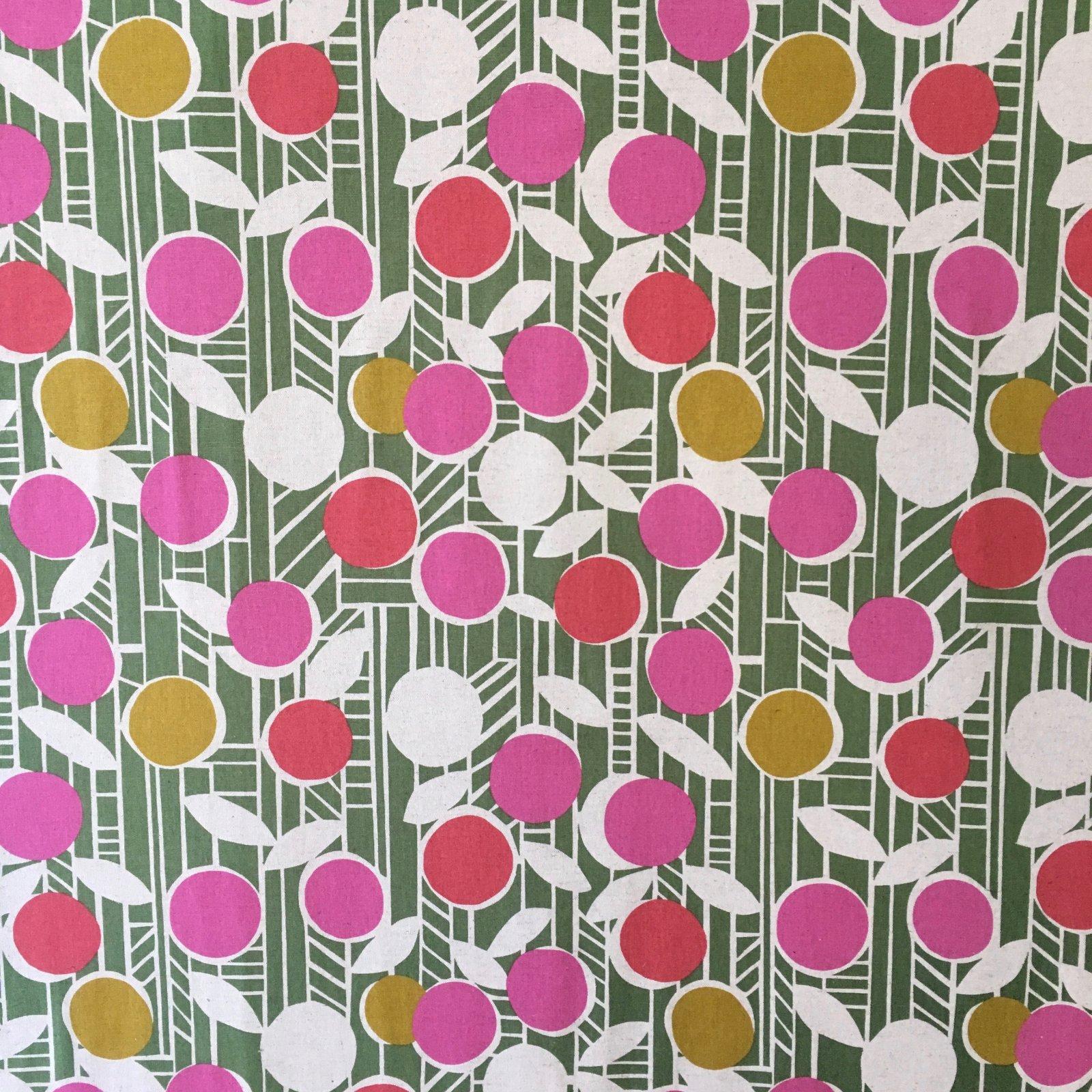 Ellen Baker Paper - Flowers (Green)
