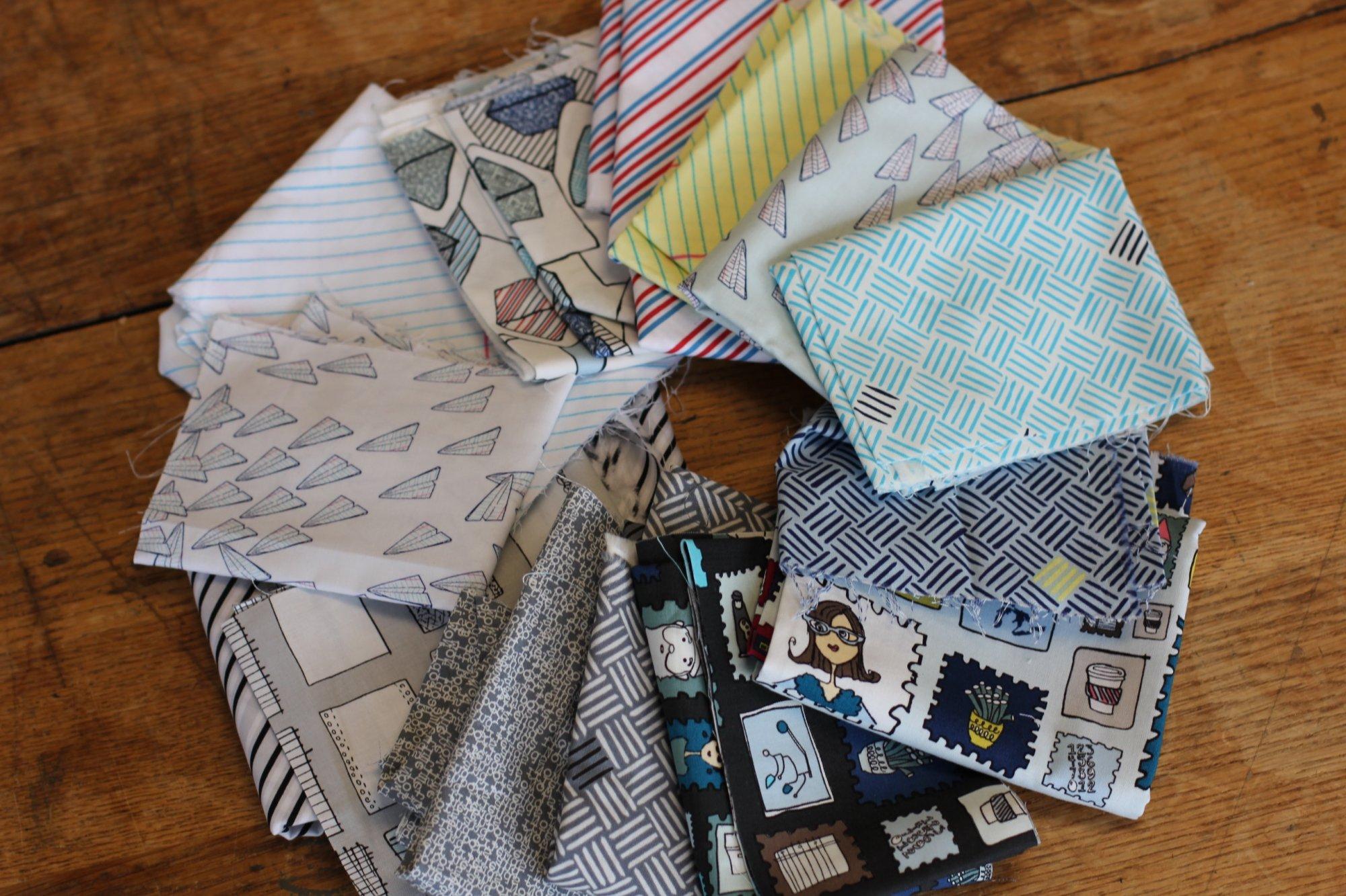 Scrap Bag of Modern Fabrics