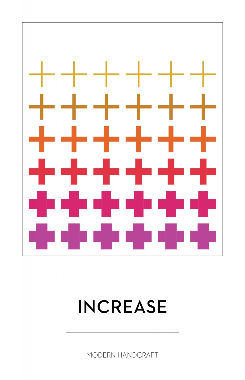 Increase Quilt Pattern