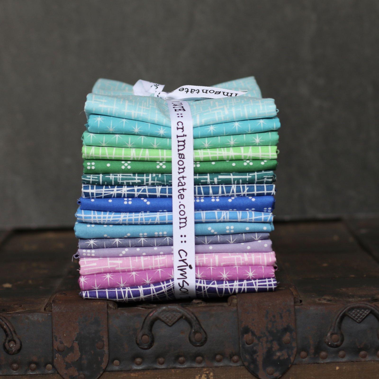 Violet Craft Modern Classics - 15 pc. Full Yard Bundle (Invigorating)