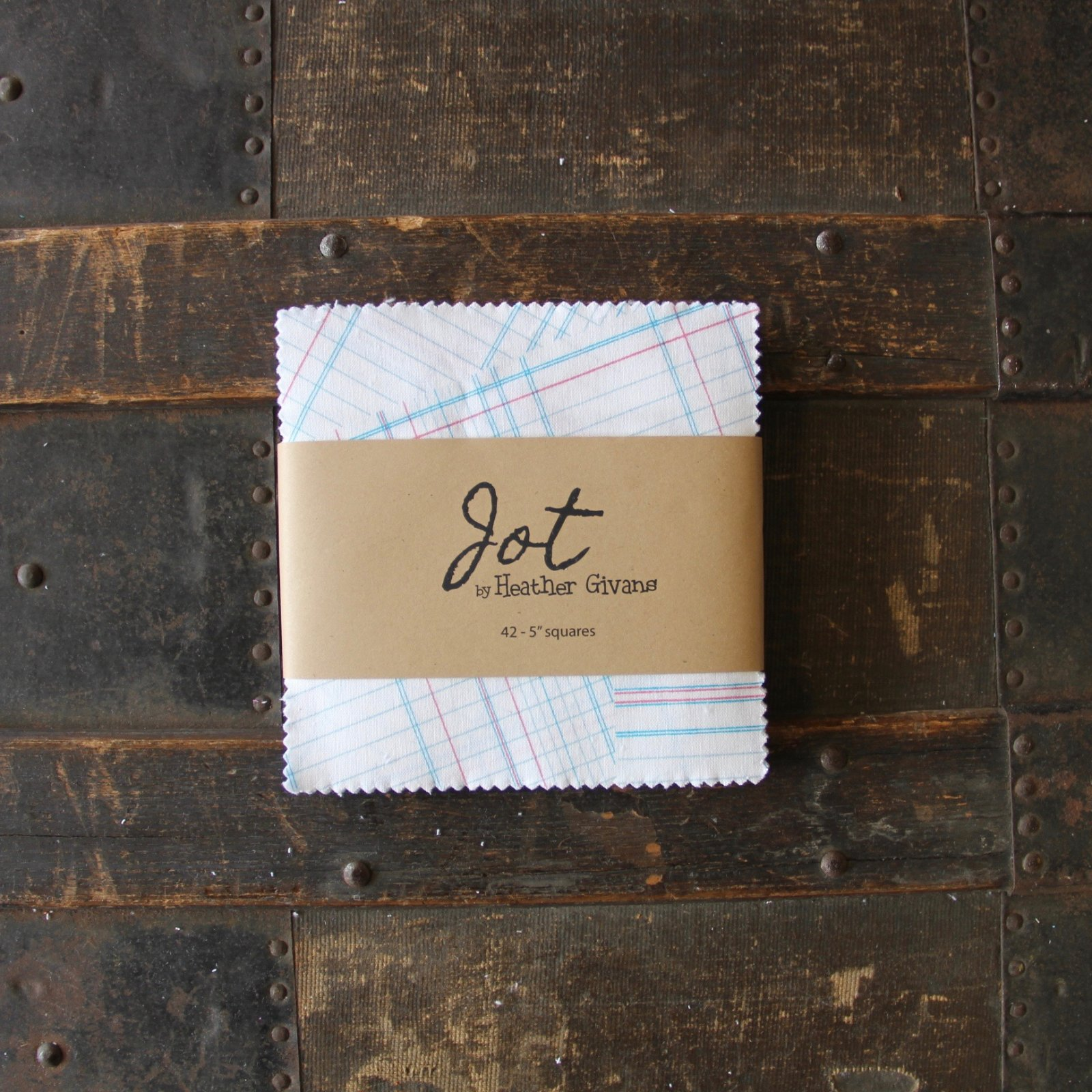 Jot Charms - (42) 5 squares