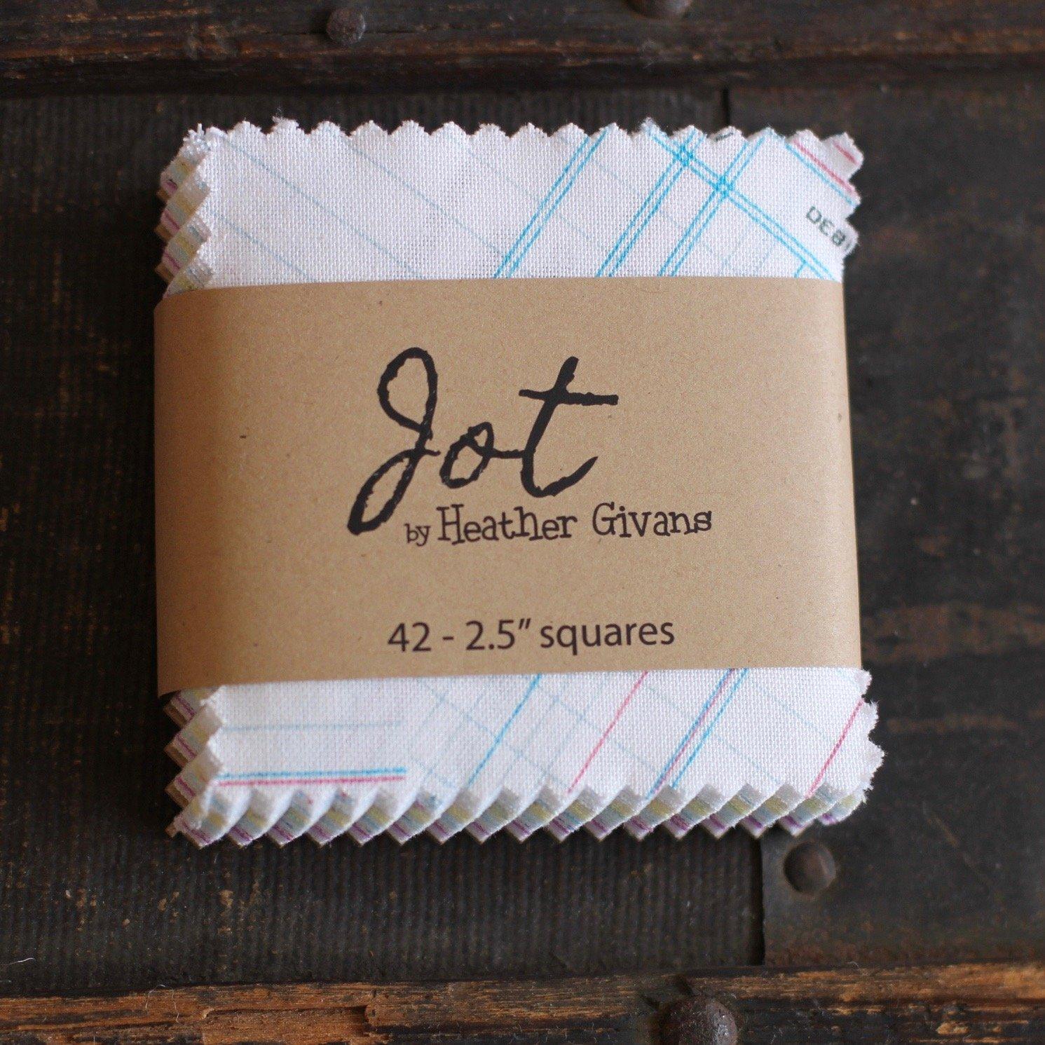 Jot Mini Charms - (42) 2.5 squares
