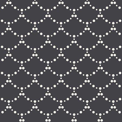 Art Gallery Fabrics (AGF) Pandalicious - Ripples (Black)