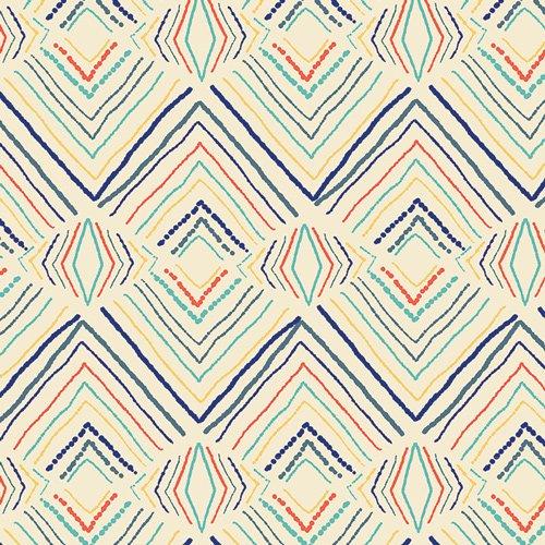 Art Gallery Fabrics (AGF) Sirena - Wavelength (Sand)