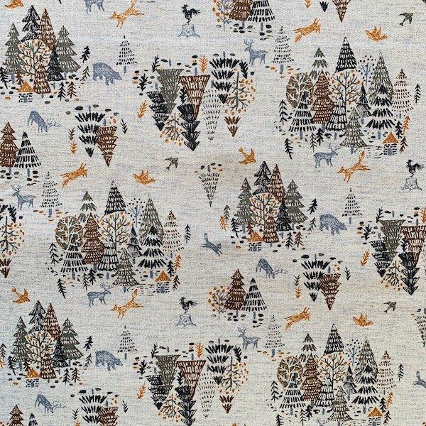 Hokkori Canvas - Northwoods (Ash)