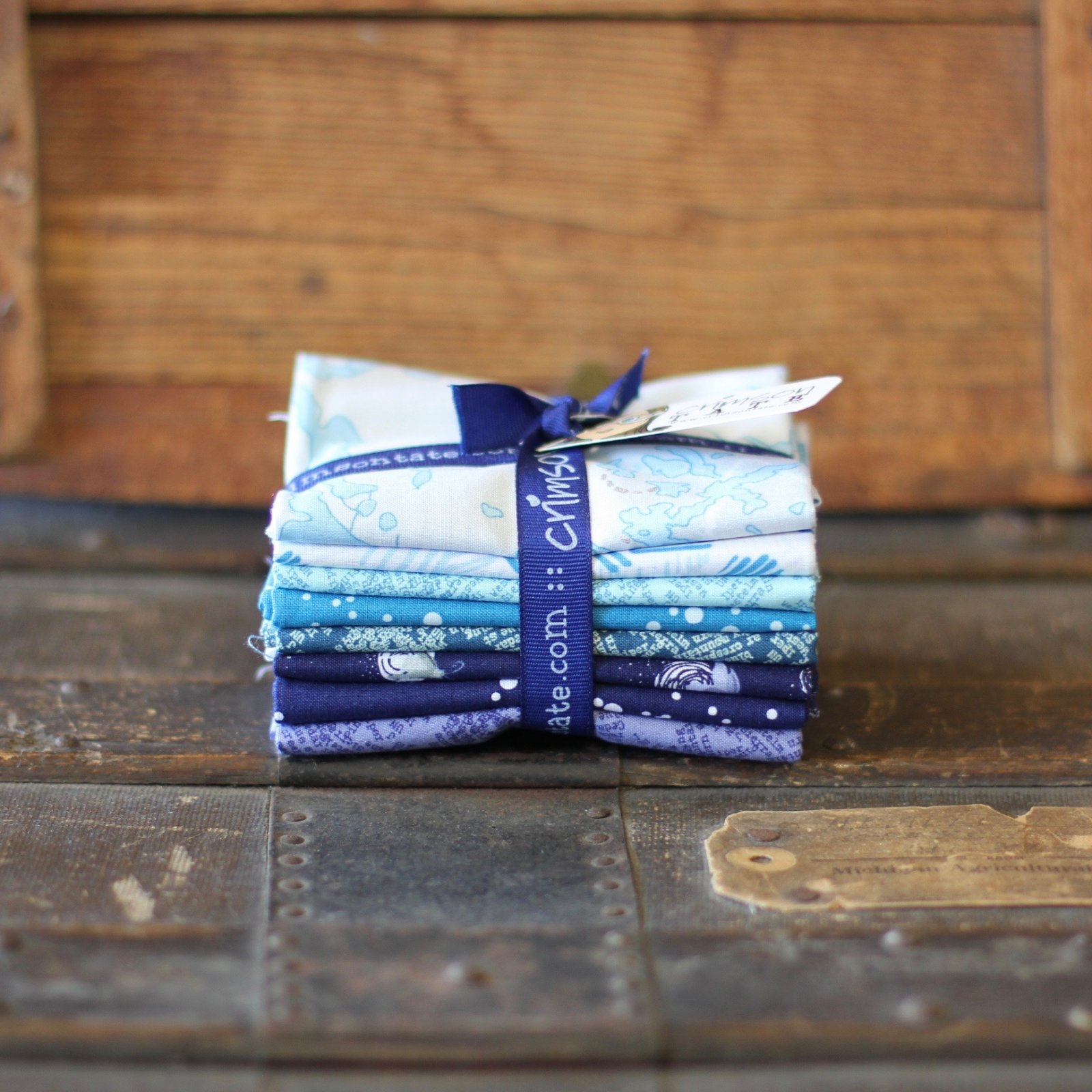 Heather Givans Night Hike - 8 pc. Fat Quarter Bundle (Lake)