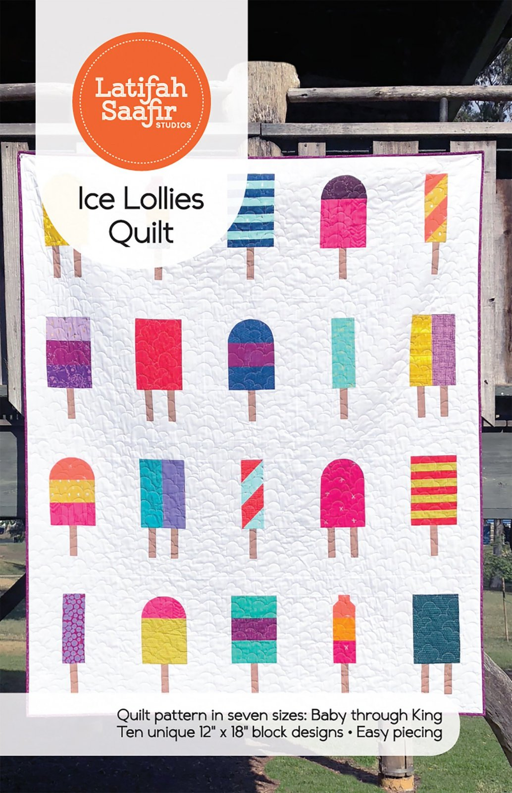 Ice Lollies Quilt Pattern