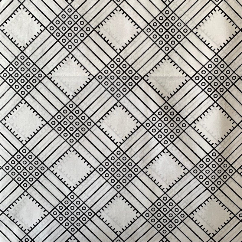 Three Yard Cut African Wax Block Fabric (Sao Tome and Principe)