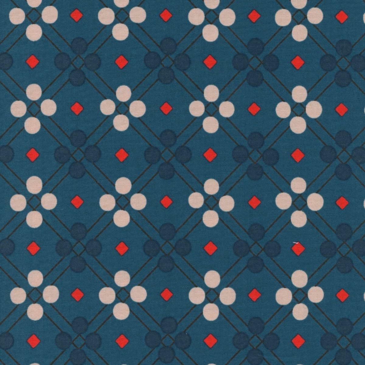 Cotton + Steel Picnic - Picnic Blanket (Teal)
