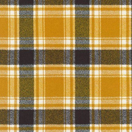 Robert Kaufman Mammoth Flannel (Saffron)