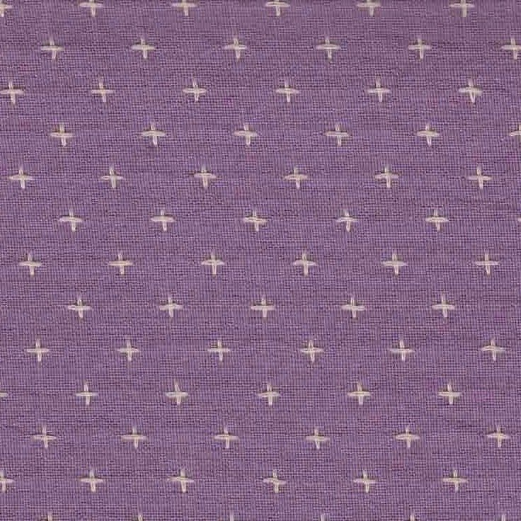 Diamond Textiles Manchester - Pluses and Crosses (Duchess Lilac)