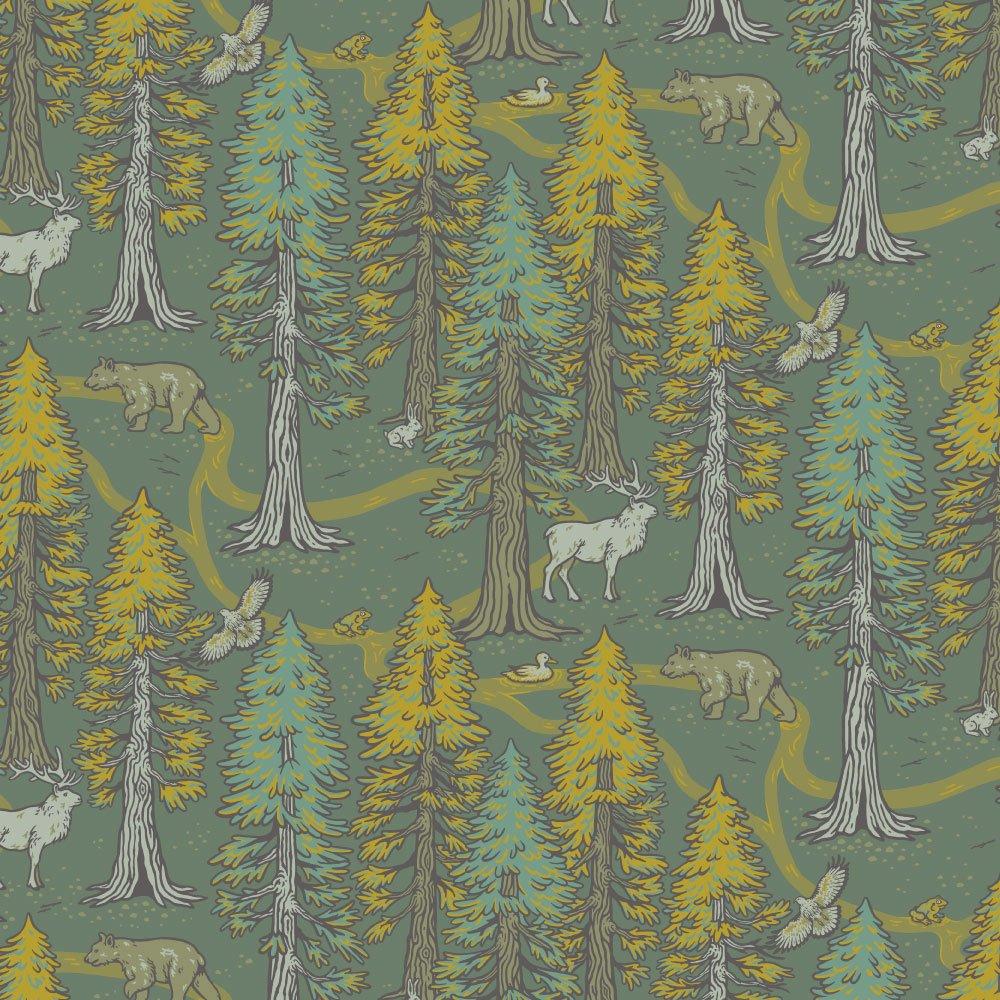 Mustard Beetle The Wild Coast - Redwoods (Green)