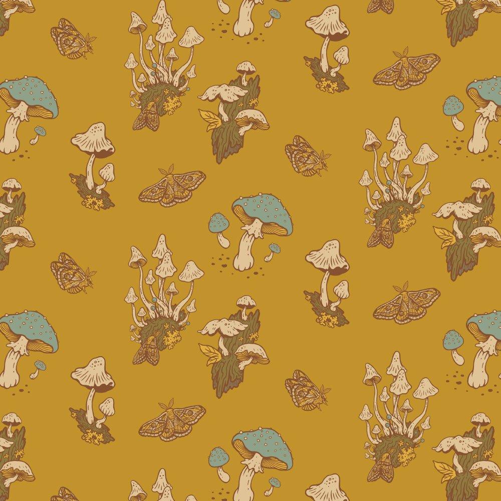 Mustard Beetle The Wild Coast - Mushrooms (Mustard)