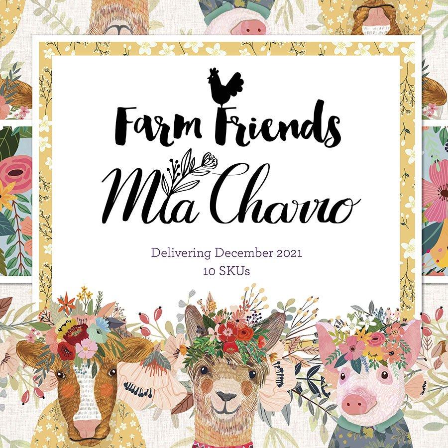 Coming Soon! Mia Charro's Farm Friends