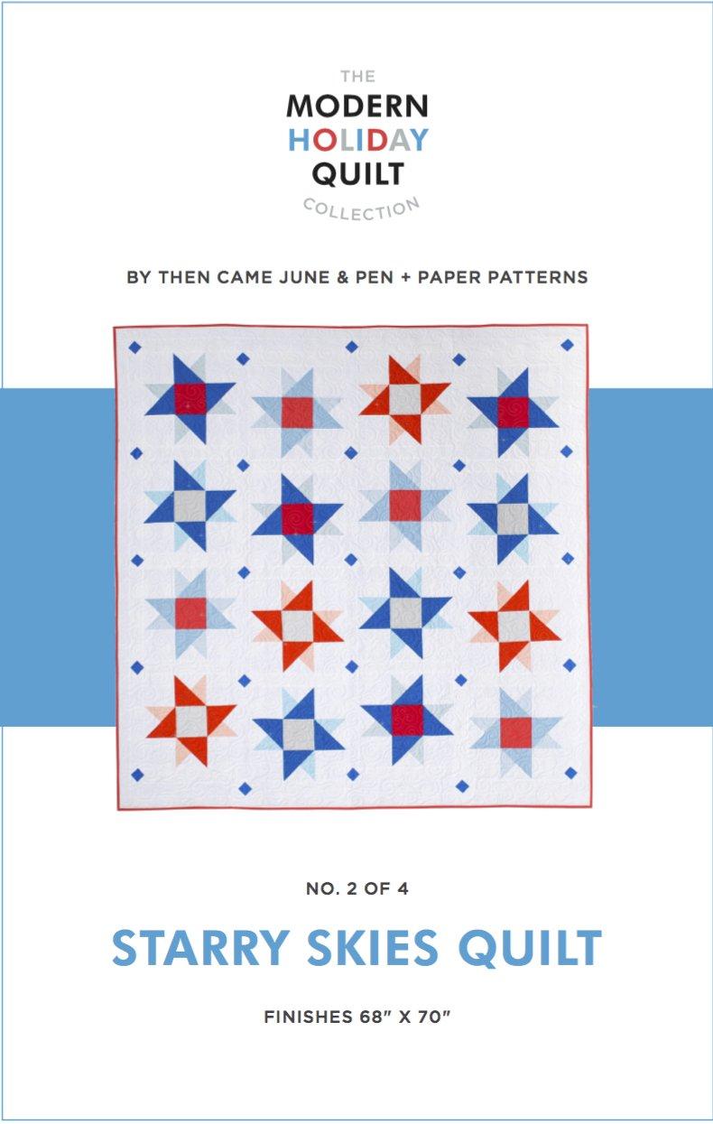 Starry Skies Quilt Pattern
