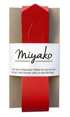 Miyako Bag Handle (Red)