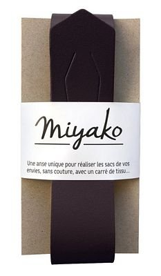 Miyako Bag Handle (Black)