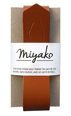 Miyako Bag Handle (Brown)