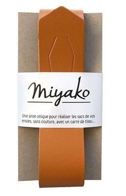 Miyako Bag Handle (Camel)