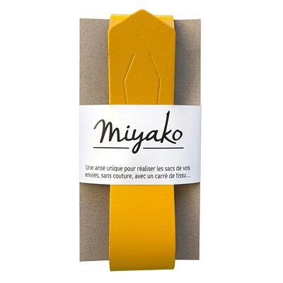 Miyako Bag Handle (Curry)