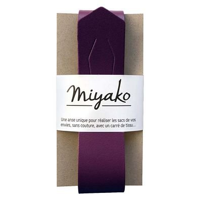 Miyako Bag Handle (Plum)