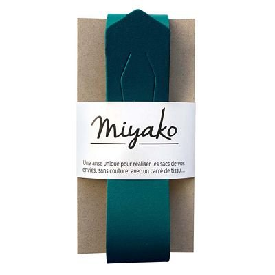 Miyako Bag Handle (Canard Blue)