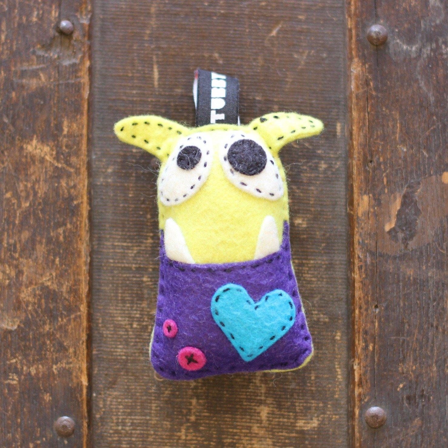 TubbyWubby Stitch & Stuff Critter Kit - Ned the Monster