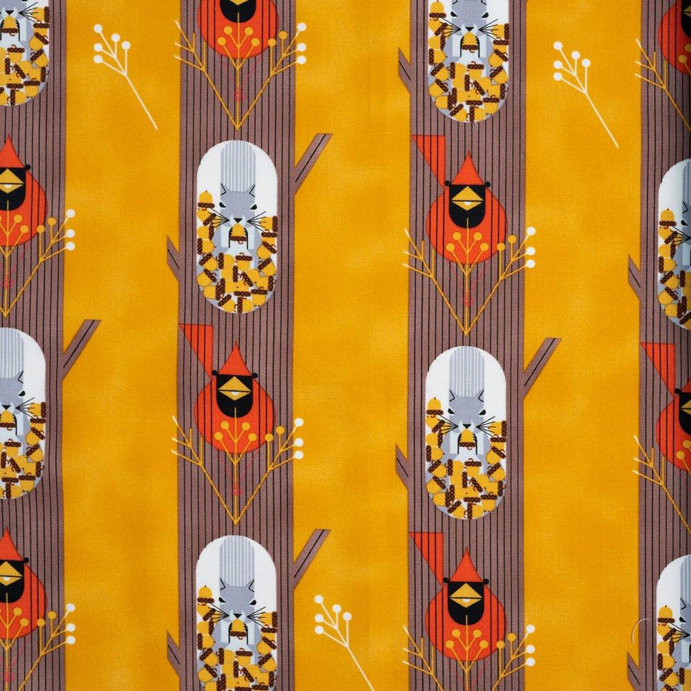 Charley Harper Holidays 2020 - October Edibles Gold