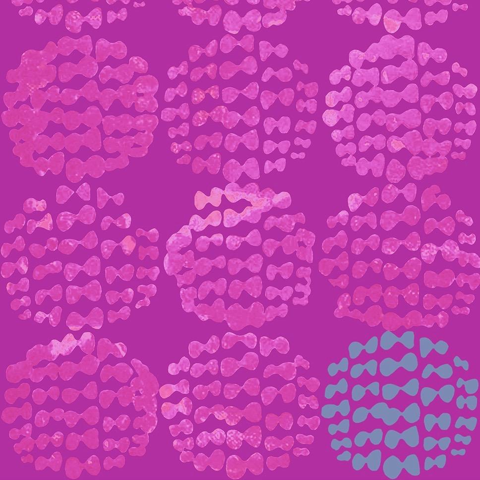 Oka Emi Snow Flowers - Hydrangea (Magenta)