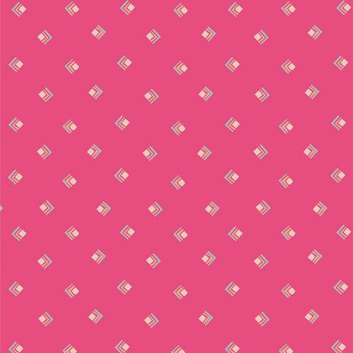 Art Gallery Fabrics (AGF) Open Heart - Everlasting Tokens (Pink)