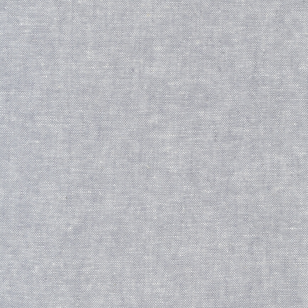 Robert Kaufman Yarn Dyed Essex Linen (Steel)