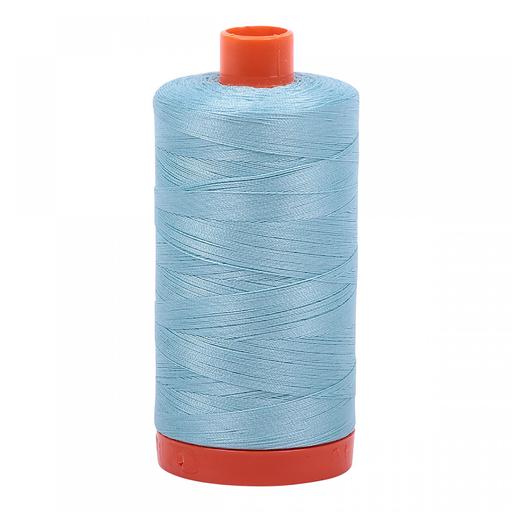 Aurifil 50 WT Cotton (Light Grey Turquoise)