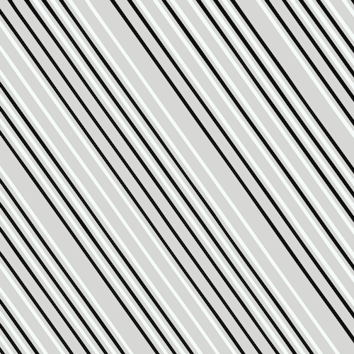 Heather Givans Paper Obsessed - Air Mail Stripe (Greyscale)