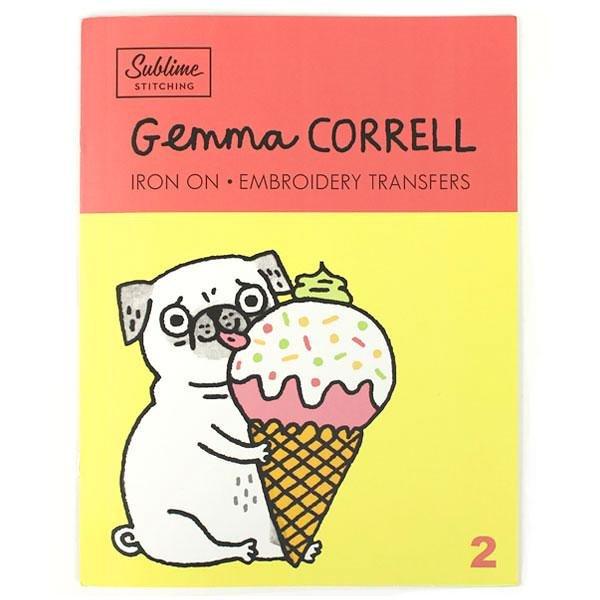Gemma Correll Embroidery Pattern Portfolio #2
