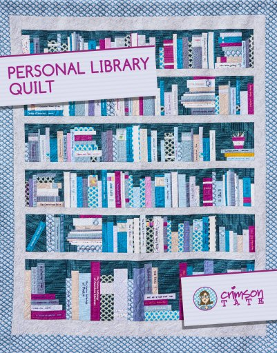 Personal Library Quilt Pattern