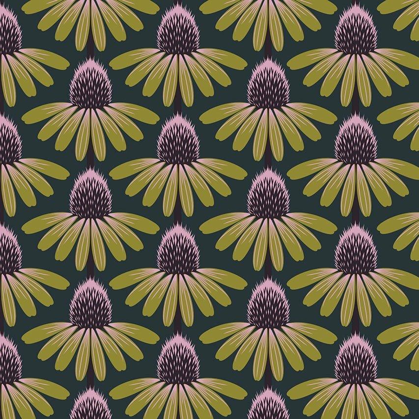 Anna Maria Horner Love Always, AM - Echinacea (Seaweed)