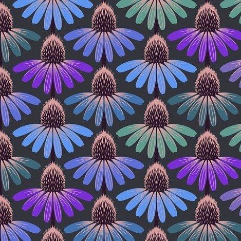 Anna Maria Horner Love Always, AM - Echinacea Glow (Amethyst)