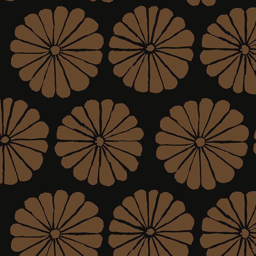 Kaffe Fassett Collective - Damask Flower (Brown)