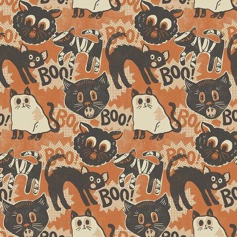 Maude Asbury Spooktacular - Scaredy Cat (Orange)