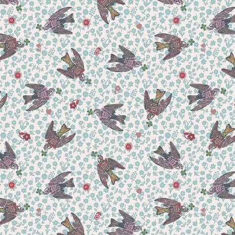 Nathalie Lete for Conservatory Woodland Walk - The Swallows (Rose)