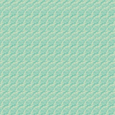 Tina Givens Piecemeal - Leafy Path (Aqua)