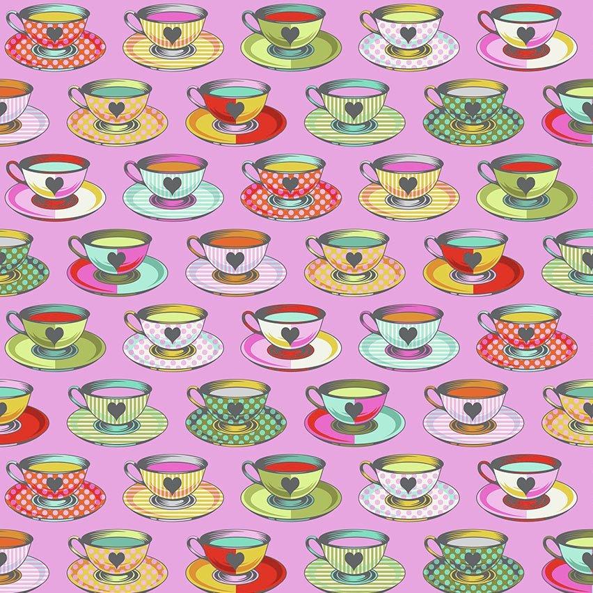 Tula Pink Curiouser and Curiouser - Tea Time (Wonder)