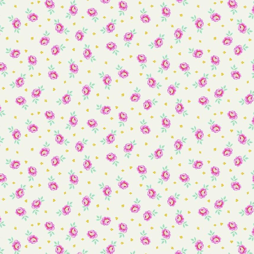 Tula Pink Curiouser and Curiouser - Baby Buds (Sugar)