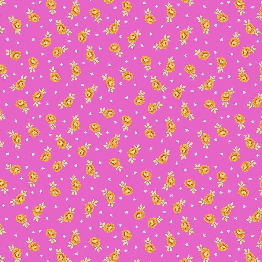 Tula Pink Curiouser and Curiouser - Baby Buds (Wonder)