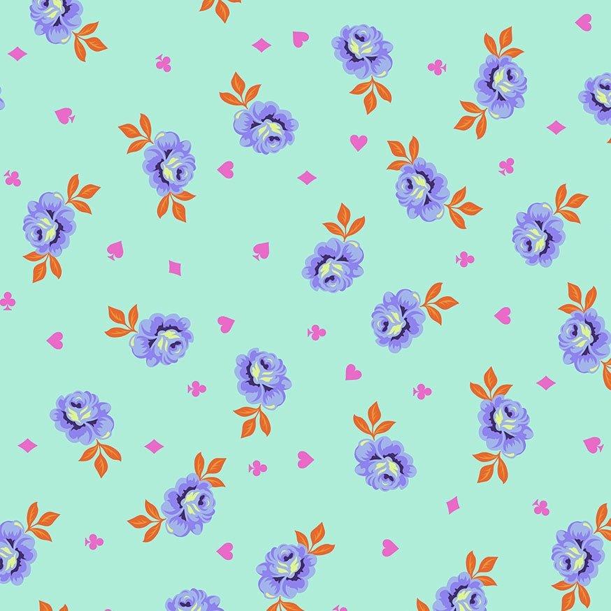 Tula Pink Curiouser and Curiouser - Big Buds (Daydream)