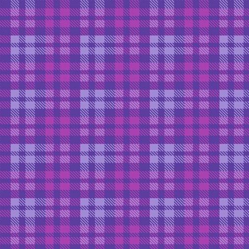 Primo Plaid - Mix and Mingle (Violet)