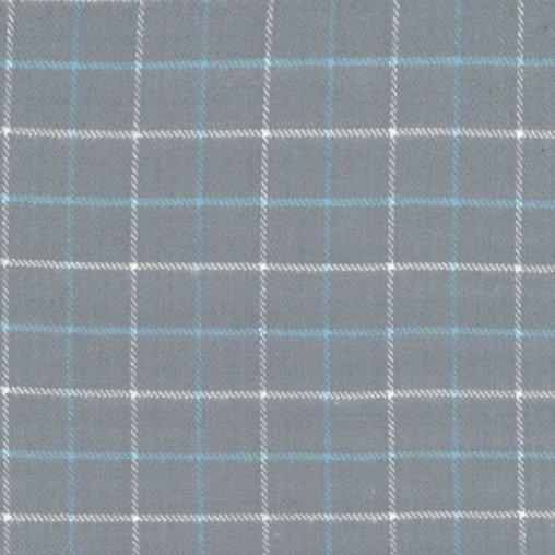 Primo Plaid - Blue Ice (Gray)