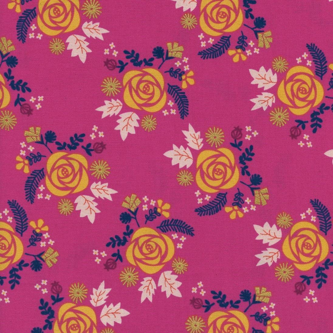Rashida Coleman-Hale Akoma - Wildflower (Fuschia)